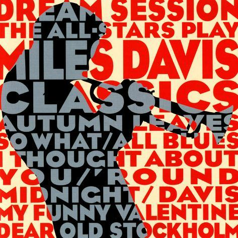 Dream Session : The All-Stars Play Miles Davis Classics Art Print
