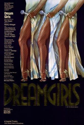 Dreamgirls (Broadway) Poster
