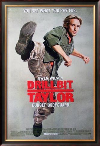 Drillbit Taylor Impressão artística emoldurada