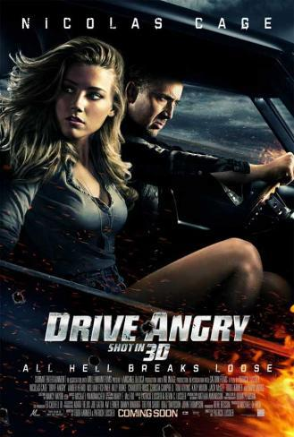 Drive Angry Stampa master