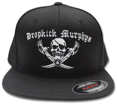 Dropkick Murphys- Pirate Logo Snapback Gorra en AllPosters.es 7ab824893db