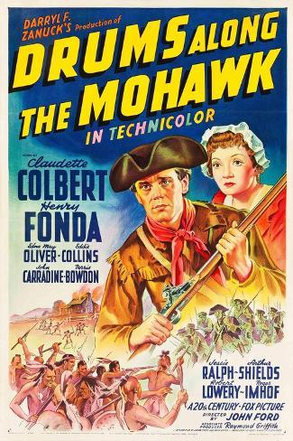 Drums Along the Mohawk, 1939, Directed by John Ford Giclee Print