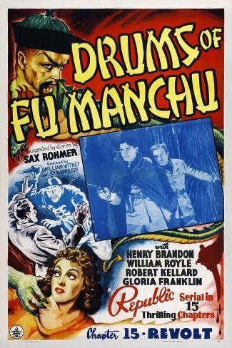 Drums of Fu Manchu Lámina