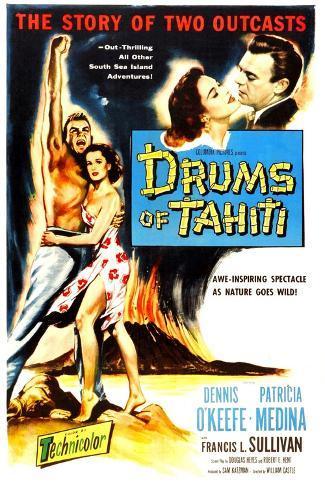 Drums of Tahiti Art Print