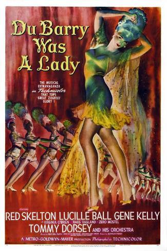 Du Barry Was a Lady Art Print