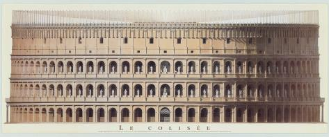 Colisseum Art Print