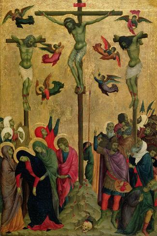 The Crucifixion, C.1315-30 Giclee Print