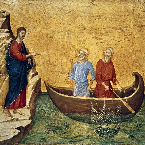 Vocacion De Los Apostoles Pedro Y Andres Giclee Print