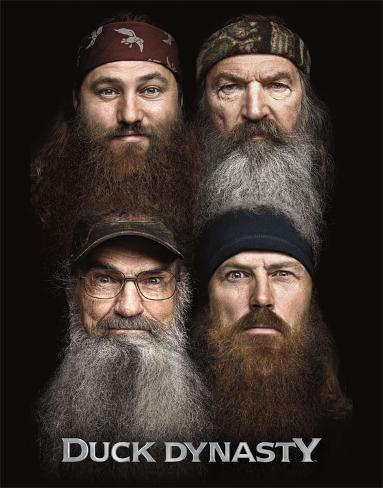 Duck Dynasty - Beards Tin Sign Tin Sign