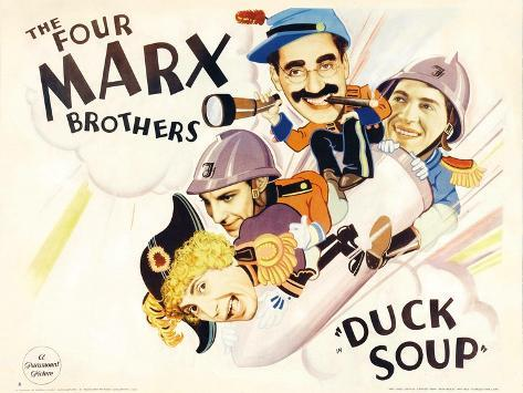 Duck Soup, 1933 Art Print