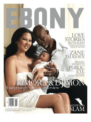 Ebony February 2010 Photographic Print