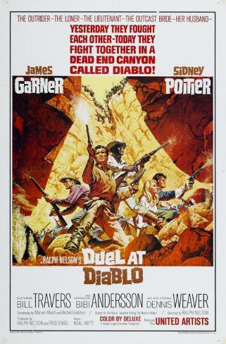 Duel at Diablo Masterprint