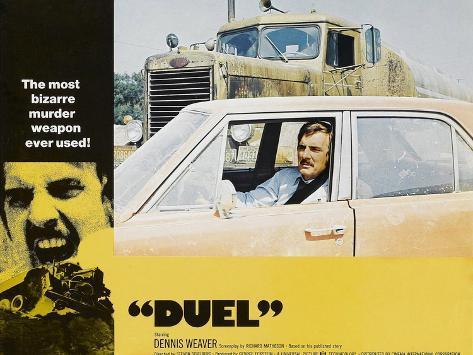 Duel, Dennis Weaver, 1971 Art Print