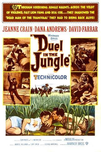 Duel in the Jungle Art Print