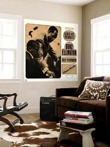 Duke Ellington - Piano Duets: Great Times! Wall Mural