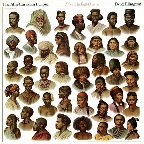 Duke Ellington - The Afro-Eurasian Eclipse Art Print