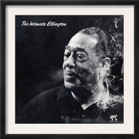 Duke Ellington - The Intimate Ellington Framed Art Print