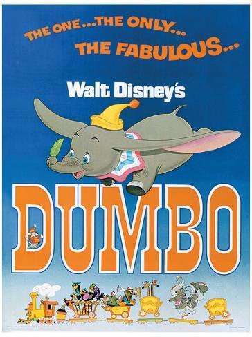 Dumbo - The Fabulous Masterprint
