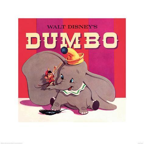 Dumbo Art Print