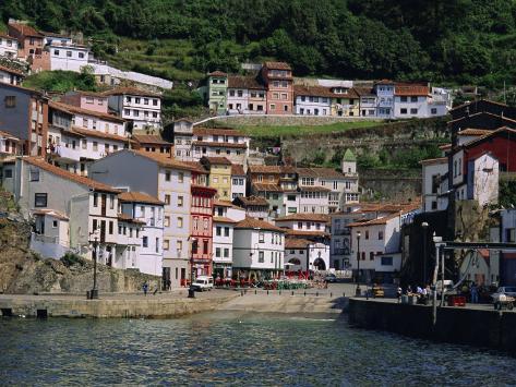 Cudillero, Fishing Village on the North Coast, Asturias, Spain, Europe Photographic Print