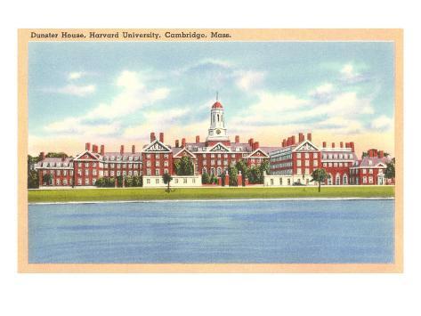 Dunster House, Harvard, Cambridge, Mass. Art Print