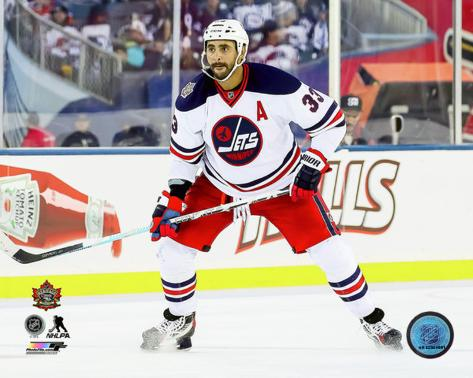 2d2a099841d heritage classic jersey winnipeg jets Dustin Byfuglien 2016 NHL ...