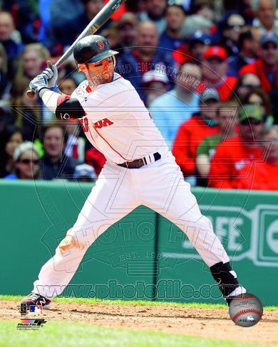 Dustin Pedroia 2011 Action Photo