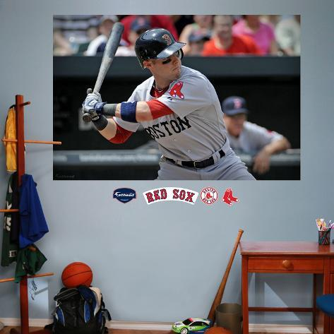 Dustin Pedroia Mural  Wall Decal