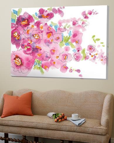 April Monrning Garden 2 Loft Art