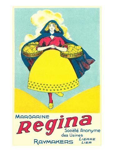 Dutch Girl Margarine Advertisement Taidevedos