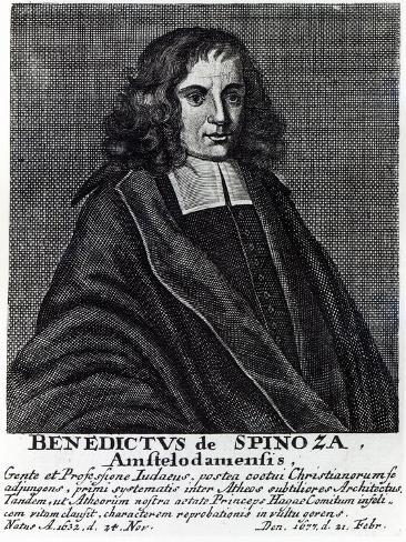 Baruch De Spinoza Stampa giclée