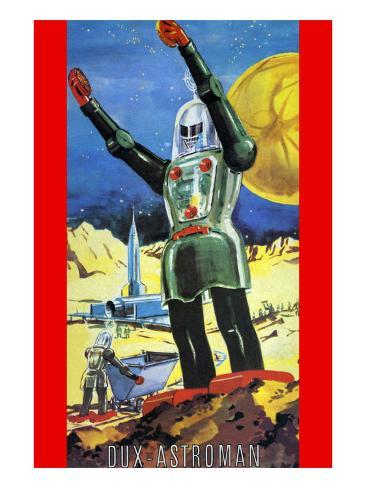 Dux Astroman Art Print