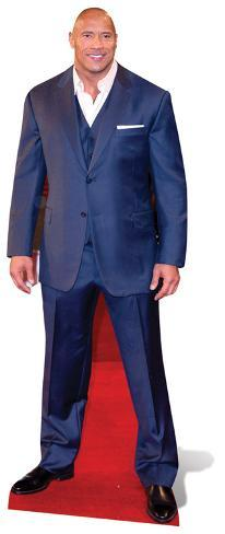 Dwayne Johnson Figura de cartón