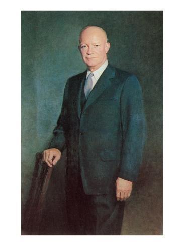Dwight D. Eisenhower Art Print