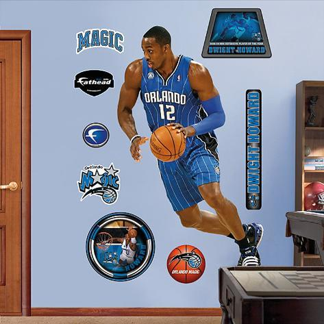 Dwight Howard Defensive Player of the Year Wall Decal