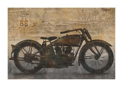 Ride Giclee Print