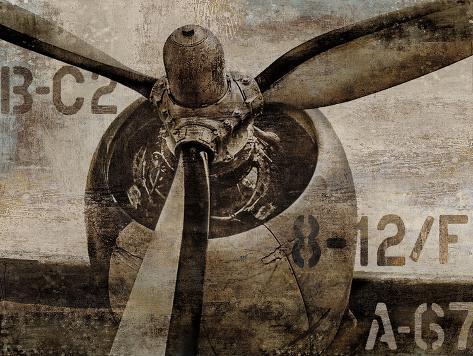 Vintage Propeller Art Print