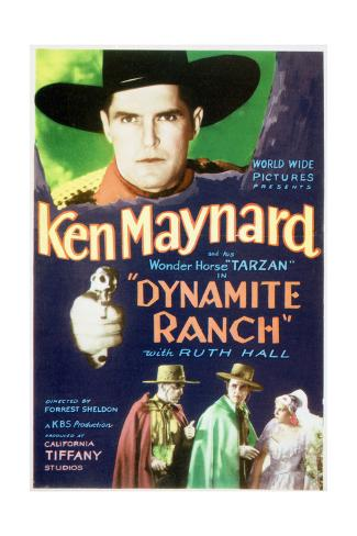 Dynamite Ranch - Movie Poster Reproduction Premium Giclee Print