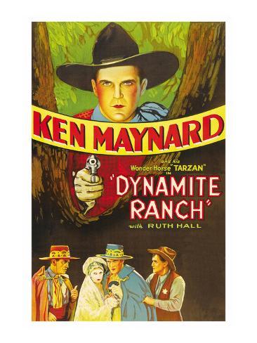 Dynamite Ranch Art Print
