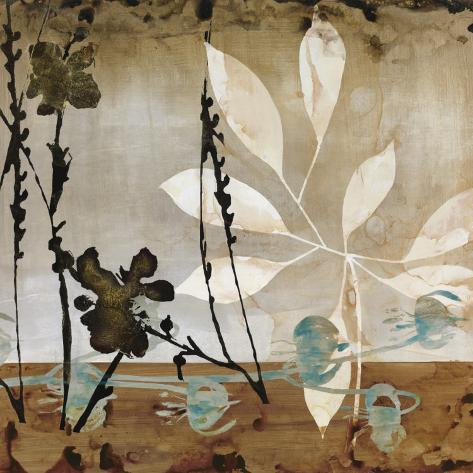 Floralscape II Art Print