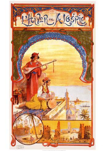 L'Hiver En Algerie Art Print