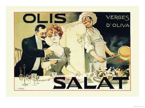 Olis Salat, Verges d'Oliva Taidevedos