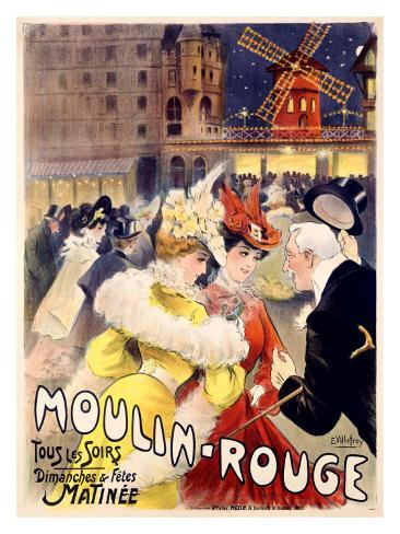 Moulin Rouge Giclee Print