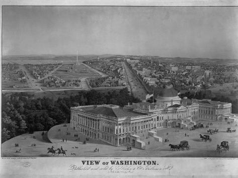 View of Washington Giclee Print