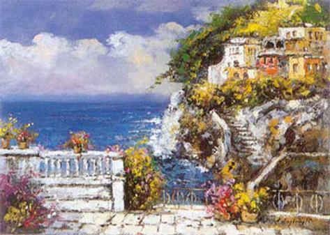 Near Amalfi Art Print