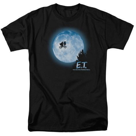 E.T. The Extra Terrestrial - E.T. Moon Scene T-Shirt