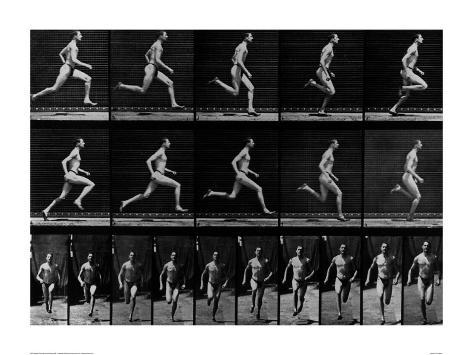 Athlete Running, 1897 Giclee Print