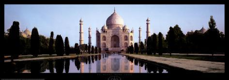 Taj Mahal, Agra, India Konstprint