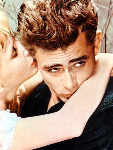 East Of Eden, Julie Harris, James Dean, 1955 Photo