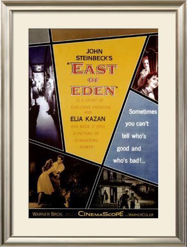 East Of Eden Framed Poster
